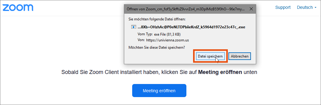 Software installieren