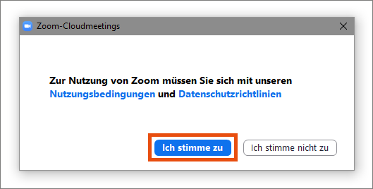Download-Center Nutzungsbedingungen