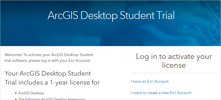 ArcGis Screenshot Website