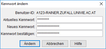 Screenshot Windows Passwort eingeben